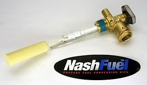 Nashfuel Propane Tank Service Valve Pv3004S Steel 30Lb Rego Style Coupler Opd Grill Bbq