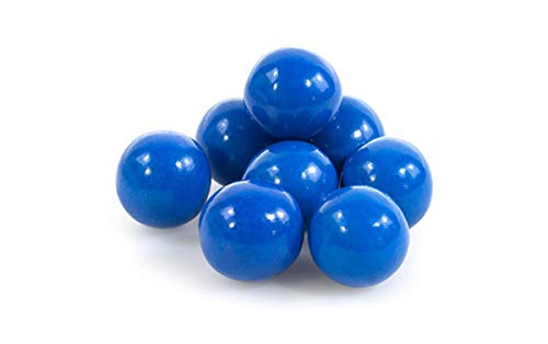 Blue 1 Inch Gumballs 2LBS - BubbleGum For Baby Showers Or Gender Reveal Parties -