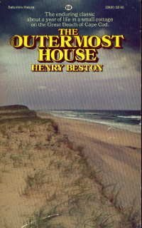 The Outermost House: A Year of Life on the Great Beach of Cape Cod by Henry Beston - 12 Cape Cod Mall
