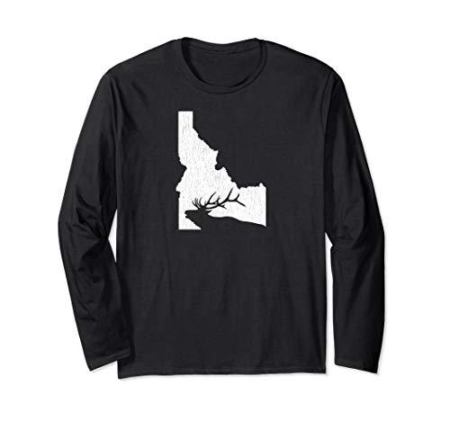 Idaho Elk Hunting Long Sleeve Shirt