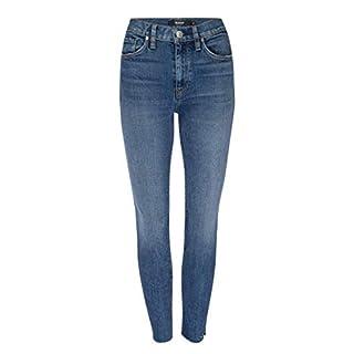 HUDSON Women's Barbara High Rise Super Skinny Fit Ankle Jean, Surpass, 28