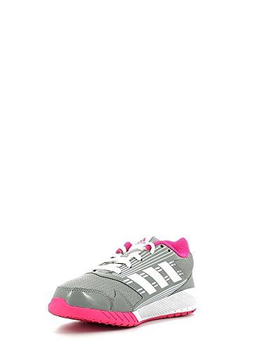 Adidas Altarun K, Scarpe da Ginnastica Unisex – Bambini, Grigio (Grimed/Ftwbla/Rosimp), 38 EU