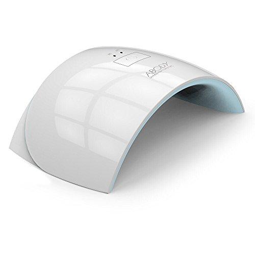 Abody 24W UV Nagel Trockner mit Timer tragbare Nagel Lampe mit 50000 Stunden Lebensdauer für CND Schellac Acrylic und Gelish