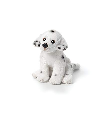 DEMDACO Spotted Dalmatian Dog Children's Plush Beanbag Stuffed Animal Toy]()