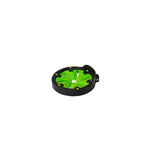 ALEKO PBSF131 Paintball Speed Feed Hopper Max Speed Feed Swirl Design, Black and Neon Green by ALEKO