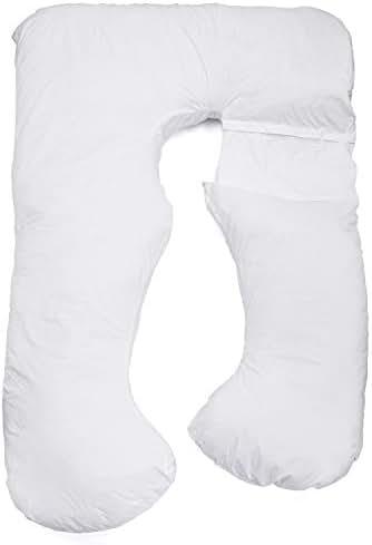 S2BMOM Premium Contoured Total Body Pillow/Maternity Pillow/Pregnancy Pillow (U Shape Convertable to L Shape)