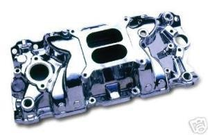 Professional Products 52021 Satin Typhoon Intake Manifold for Small Block Chevy Typhoon Manifold