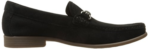 Stacy Adams Mænds Kelby-moc Tå Bit Slip-on Oxford Sort V3mNH5t