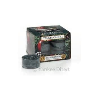 Yankee Candle Apple & Pine Needle Scented Tea Light Candles