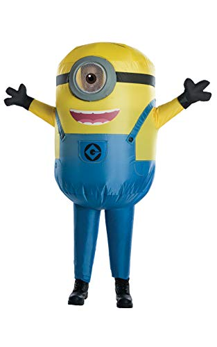 Easy Minion Costume (Rubie's Despicable Me Minion Stuart Inflatable Child)