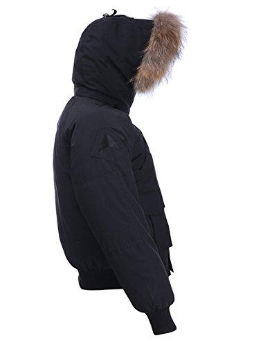 Arctic Residents Rocky Relaxed Mens Winter Jacket Bomber Jacket Men Winter Coat for Men