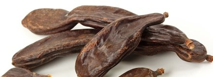 Carob Bean Pods, Whole - Wildcrafted - Ceratonia siliqua (454g = One Pound) Brand: Herbies Herbs