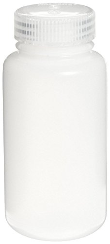 Nalgene 3121-0250 HDPE Centrifuge Bottle with Polypropylene Closure, 250ml Capacity (Case of 36)