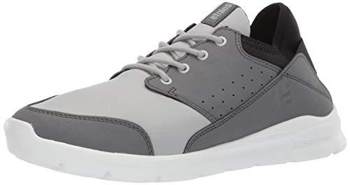 Etnies Men's Lookout Skate Shoe Light Grey, 11 Medium US