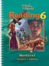 Reading Worktext Teacher Grd 6 2nd - 2 Edition Worktext Student 2nd