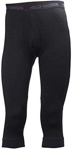 Helly Hansen Men's LIFA Merino 3/4 Boot Top Pa, Black, Medium (Underwear Long Helly Hansen)