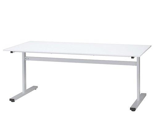 タック ミーティングテーブル T字脚 ホワイト 1800×900 HAT-1890WH B01DY81P0I