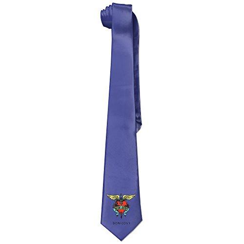 [Ggift American Rock Band Mens Fashion Business Solid Necktie Ties] (Matt Barkley Costume)