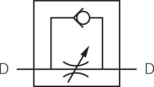 Drosselrückschlagventil mit Steckanschluss - Schnellsteckverbinder ...
