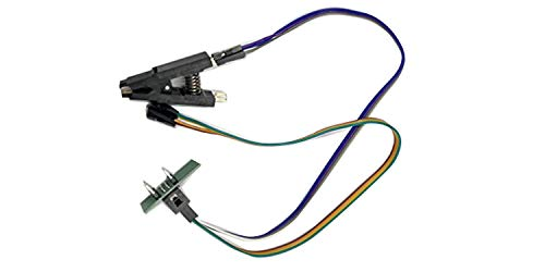 SOIC8 SOP8 Bent Clip DIP8 with Freely adjust the pin number compatible DuPont wire for Bios programming For EEPROM 93CXX/25CXX/24CXX on ZIF Programmer