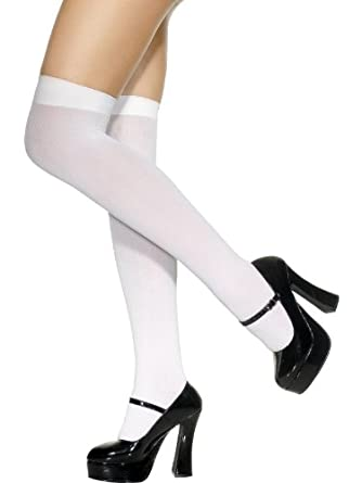 sexy white over knee stockings school girl tights socks clothing. Black Bedroom Furniture Sets. Home Design Ideas