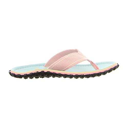 Gumbies Islander Impreso Mujer Playa Chanclas Nuevo. Salamanquesa