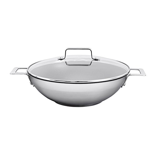 Jamie Oliver Mid Tier Frying Wok with lid 32 cm/Suitable for all Hob...