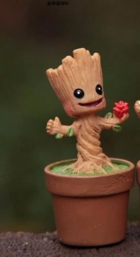 Guardians Of The Galaxy Mini Cute Groot Kids Toy(#1) by Unbranded