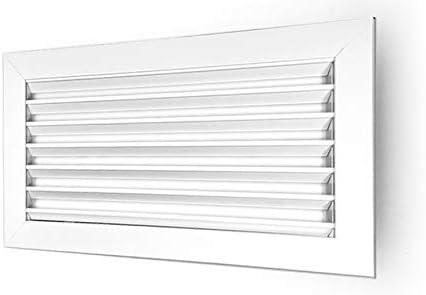 GASMOBE Rejilla ventilacion retorno simple aluminio deflexion horizontal aire acondicionado 800x100, Aluminio
