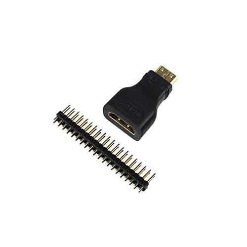 BIYI 3In1 voor Raspberry Pi Zero Adapter Kit Mini-Hdmi naar Hdmi Micro Usb-Usb Vrouwelijk (wit) ()