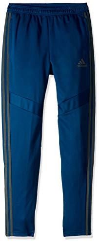 adidas Youth Soccer Tiro Training Pants, Legend Marine/Legend Ivy, Medium ()