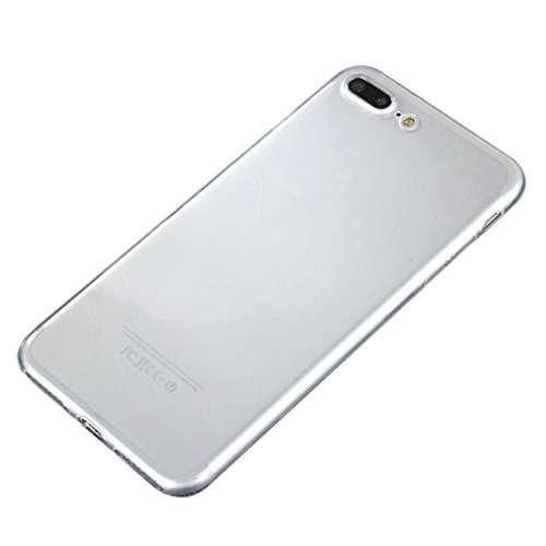 Zarupeng Slim Shock-Absorption Clear TPU Plating Bumper Case Cover for iPhone 7Plus