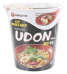 Cup Noodle Soup (Tempura Udon Flavor) - 2oz (Pack of 3)