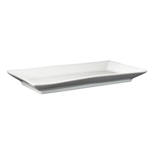 Rectangular white china plates 25cm/10\  set of 6. Amazon.co.uk Kitchen \u0026 Home  sc 1 st  Amazon UK & Rectangular white china plates 25cm/10\