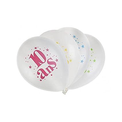 Santex 5226 - 10, bolsita de 8 globos látex 23 cm cumpleaños ...