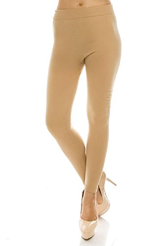 Khaki Stretch Tights - 6