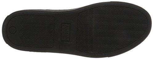 40820 Armani Bassa Metal gun Donna Grigio Sneaker