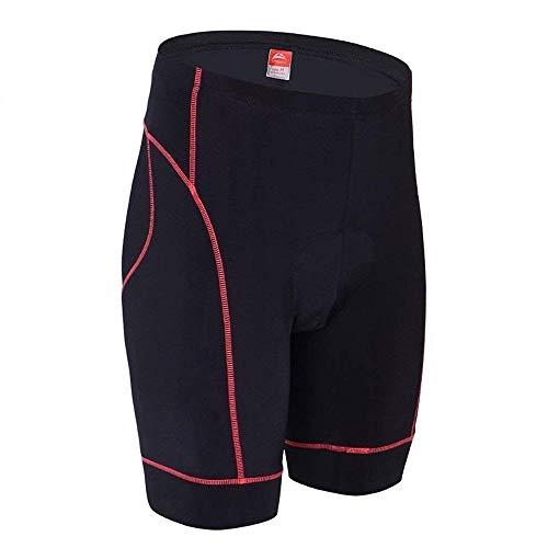 con Nero ciclismo L XL Pantaloncini Coming alta XXXL Coolmax Ally 3D uomo M all'aria imbottiti Rosso Opzionale Pantaloncini XXL da permeabilità da xq8vZRxw