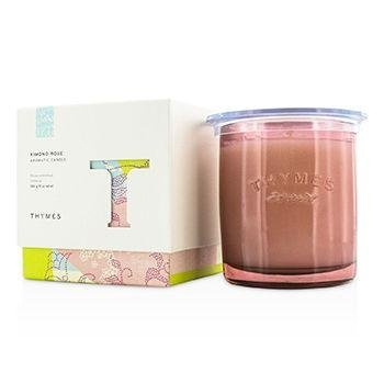 (Thymes - Kimono Rose Aromatic Candle - Long Lasting Vanilla Rose Scent with Gift Box - 9 oz)