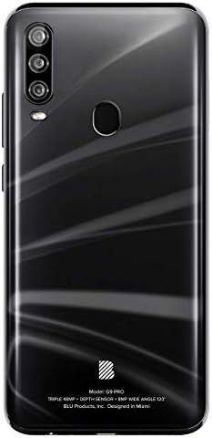 "BLU G9 Pro -6.3"" Full HD Smartphone with Triple Main Camera, 128GB+4GB RAM -Black (Renewed) WeeklyReviewer"
