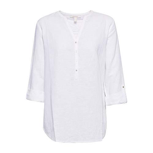 Blusa 100 Esprit Bianco Donna white 6HndqYxdw