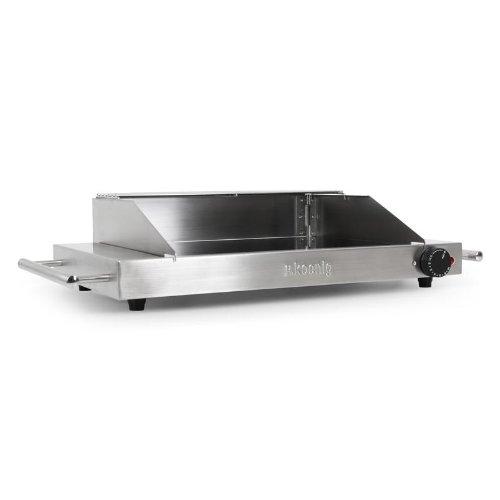 h.Koenig VIK480 Vitrocerámica/Plancha Grill eléctrica (1200W ...