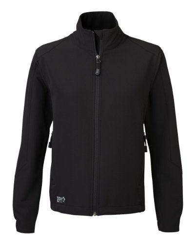 Dri Duck Element (Dri-Duck Women's 9410 Precision Soft Shell Jacket, Black, Small)