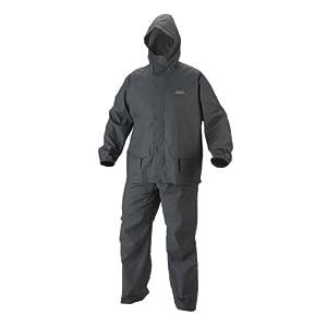 Coleman Men's 35mm PVC/Poly Rain Suit, Gray, Medium