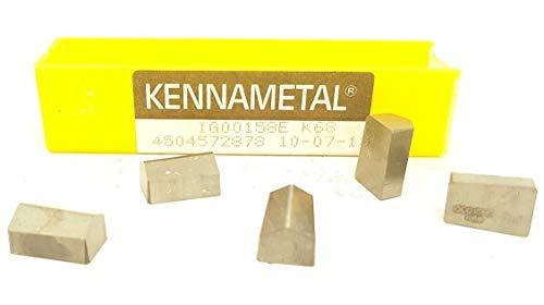 Kennametal IG00158E Hartmetall-Einsätze K68 Frässpitzen #MK2, 5 Stück