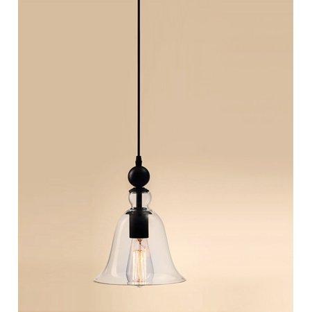 DIY Clear Glass Vintage Industrial Pendant Lamp Ceiling Light Fixture Chandelier EH7E SMT