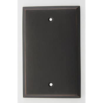 oil rubbed bronze cable wall plate blank wall plates. Black Bedroom Furniture Sets. Home Design Ideas