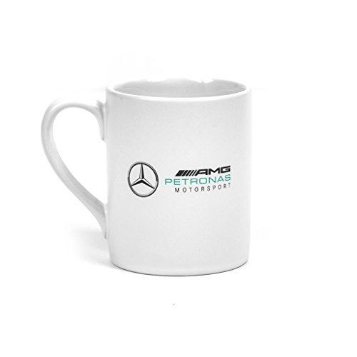 Mercedes Benz Petronas AMG Formula 1 2018 White Logo Mug