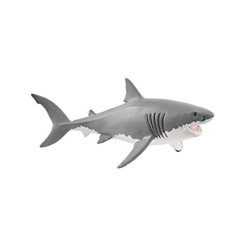 Reittier Great White Shark 173x107 cm Kinderbadespaß