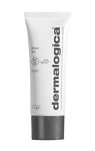 Dermalogica Light Sheer Tint Moisture SPF 20 Face Moisturiser, 1.3 Ounce